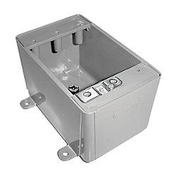 Carlon Single Gang No Hub FS Box