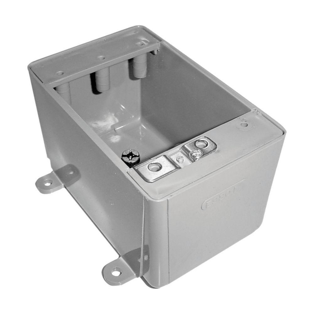 Single Gang No Hub FS Box