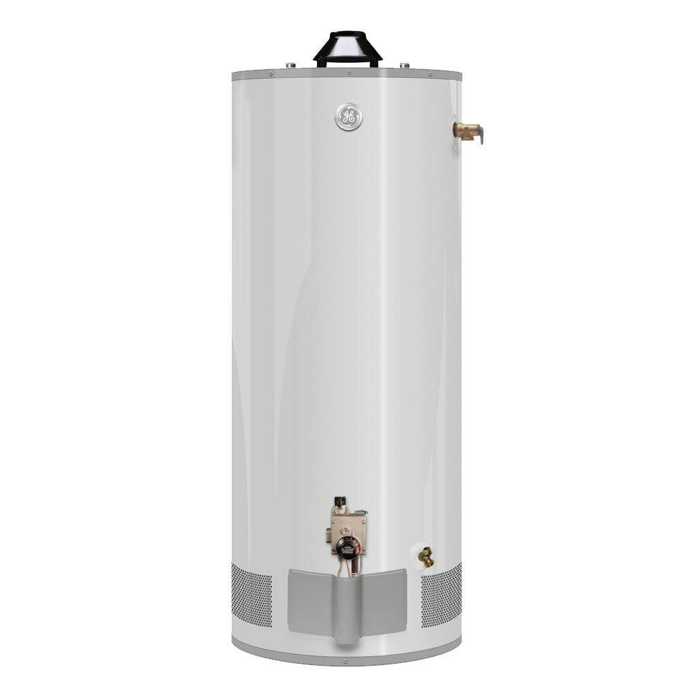 GE 40 Gal 12 Year 40,000 BTU Natural Gas Water Heater