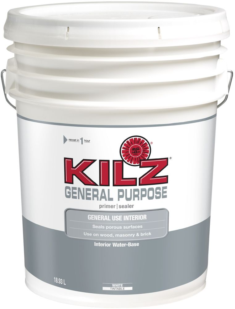 General Purpose Interior Sealer, Primer - 18.93L