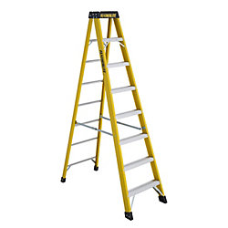Featherlite fibreglass step ladder 8 Feet  grade IA