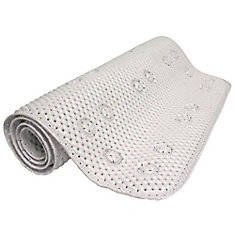 Foam Bath Mat - White