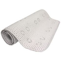 Glacier Bay Foam Bath Mat - White