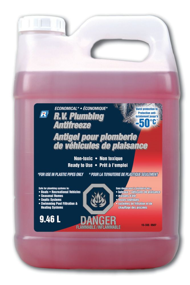 Economical RV Plumbing Antifreeze 9.46 L