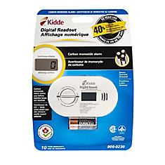Digital CO Alarm, Battery Operated