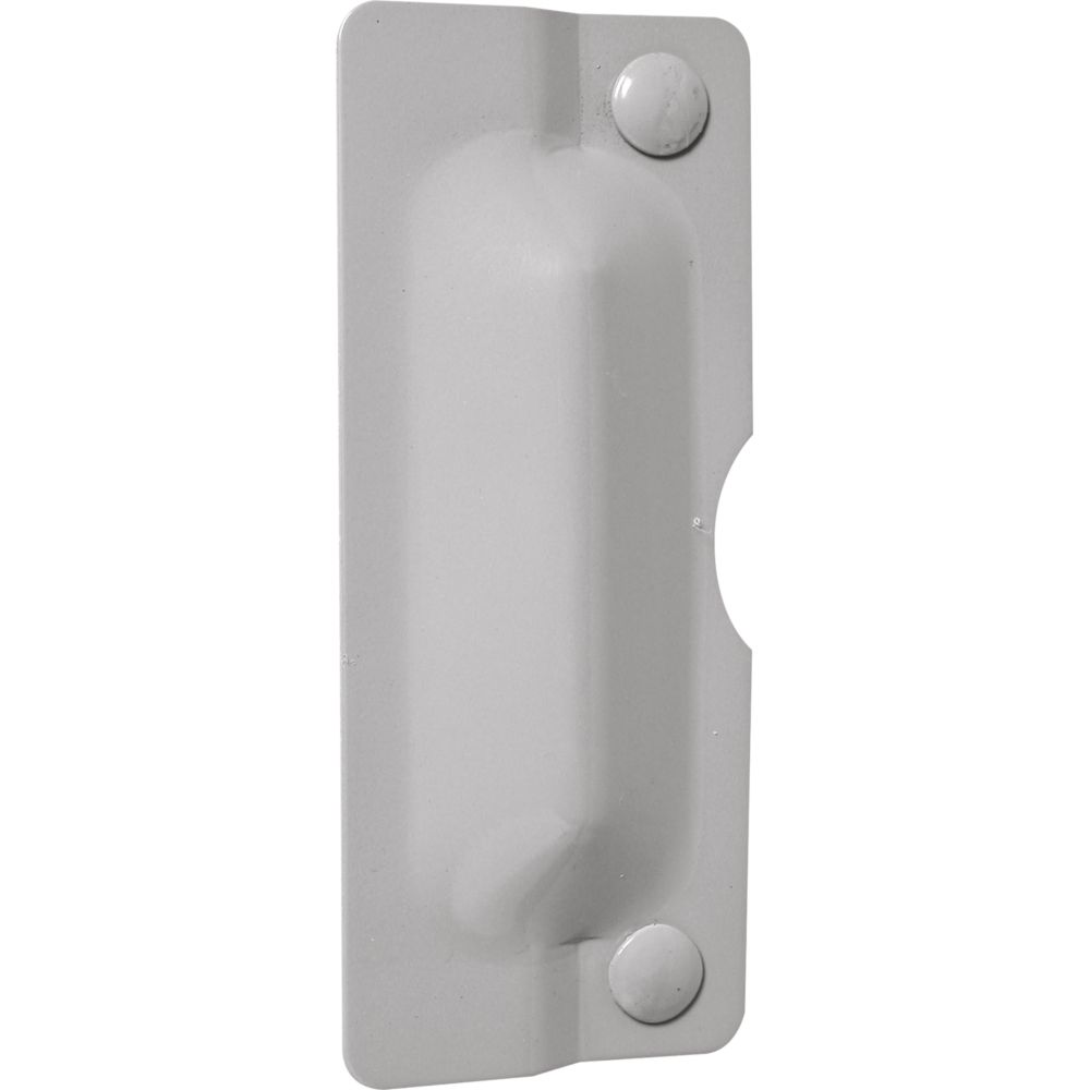 Prime-Line 3-inch x 7-inch Gray Outswinging Latch Guard