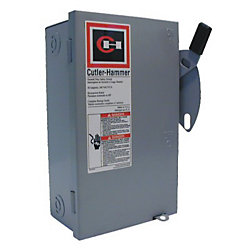Eaton Cutler-Hammer General Duty 30A Cartridge Type Safety Switch
