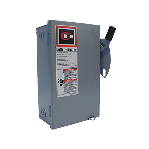 General Duty 30A Cartridge Type Safety Switch