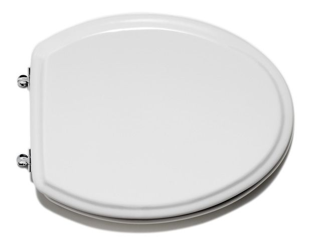 Cadet Elongated Toilet Seat in White