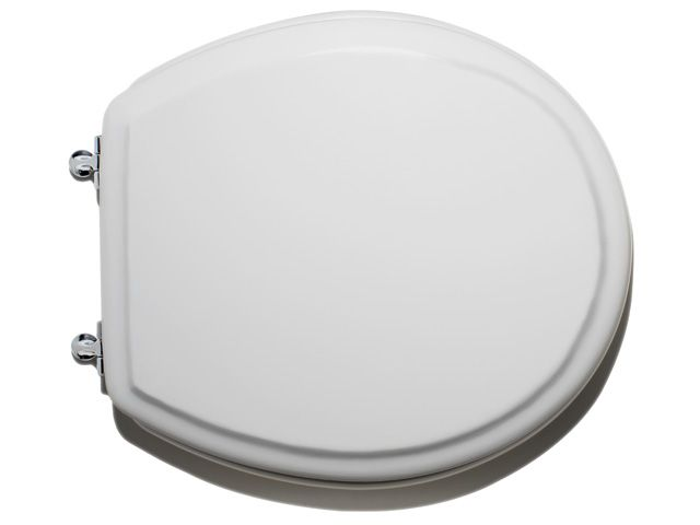 Cadet Round Toilet Seat in White
