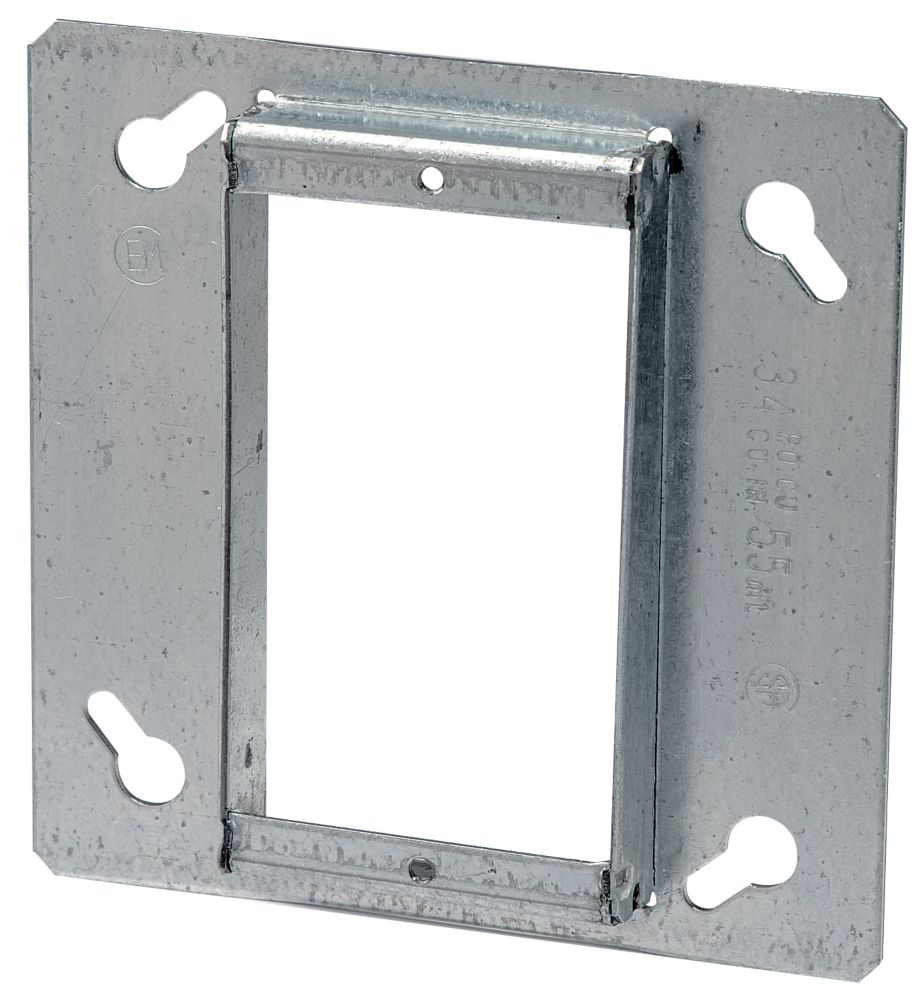 4 In. Square 1 Device 1/2 In. High Tile Cover