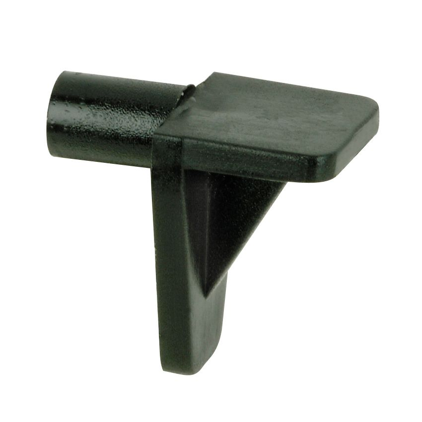 Shelf support plastic 5mm black