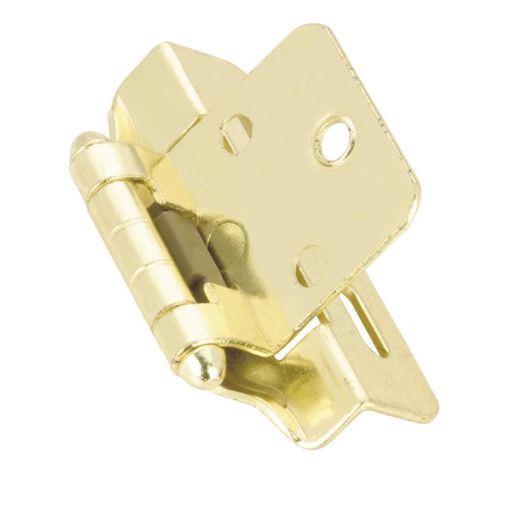 Hinge self closing 1/4 In. overlay - brass BP2051130 Canada Discount
