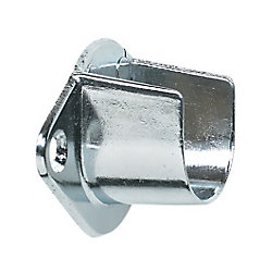 Richelieu Screw-in Open Rod Support - Chrome