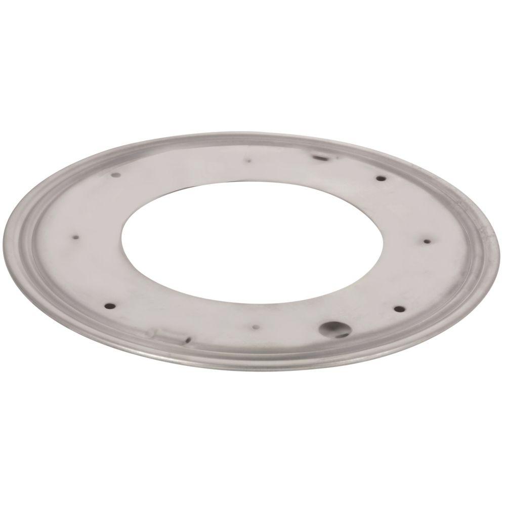 "12"" Round Metal Swivel Plate"
