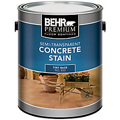 BEHR Semi Transparent Concrete Stain, 3.73L