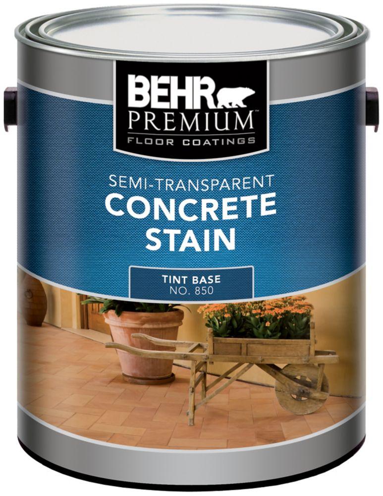 Behr BEHR Semi Transparent Concrete Stain, 3.73L
