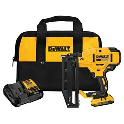 DEWALT 18V Cordless XRP 16 Gauge Straight Finish Nailer Kit