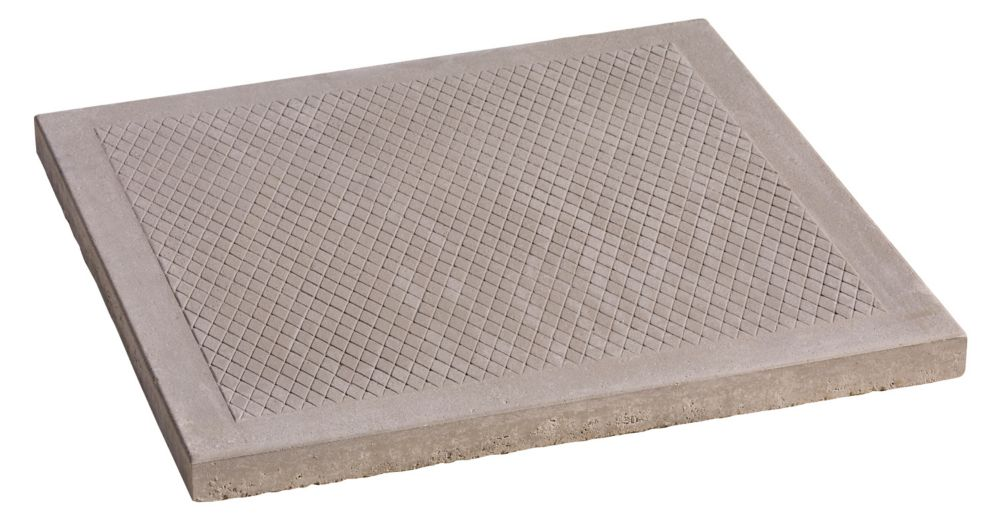 Decor Precast Natural Diamond Patio Paver 24 Inch X 24