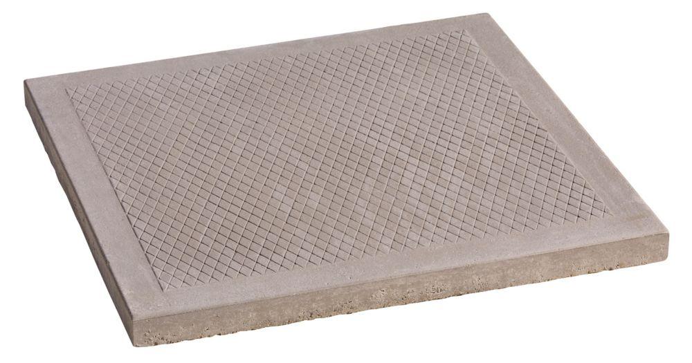 decor precast natural diamond patio paver 24 inch x 24 inch the rh homedepot ca rubber patio stones home depot round patio stones home depot