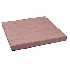 Red Brick Patio Paver - 24 Inch x 24 Inch