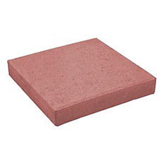 Red Square Penny Paver-12 Inch x 12 Inch