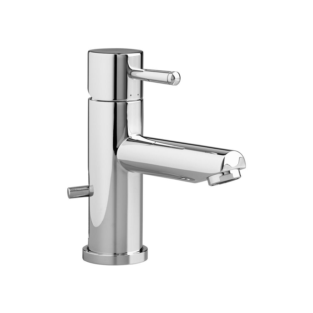 Serin Single Hole Single-Handle Low-Arc Bathroom Faucet with Speed Connect Drain in Polished Chro...