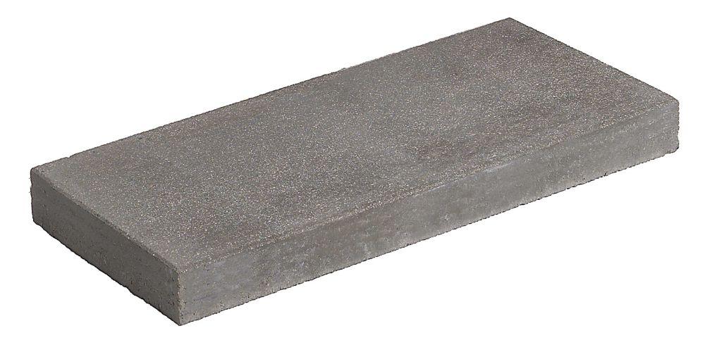 Home Depot Patio Slabs : Cci century pavers grey patio slab the home