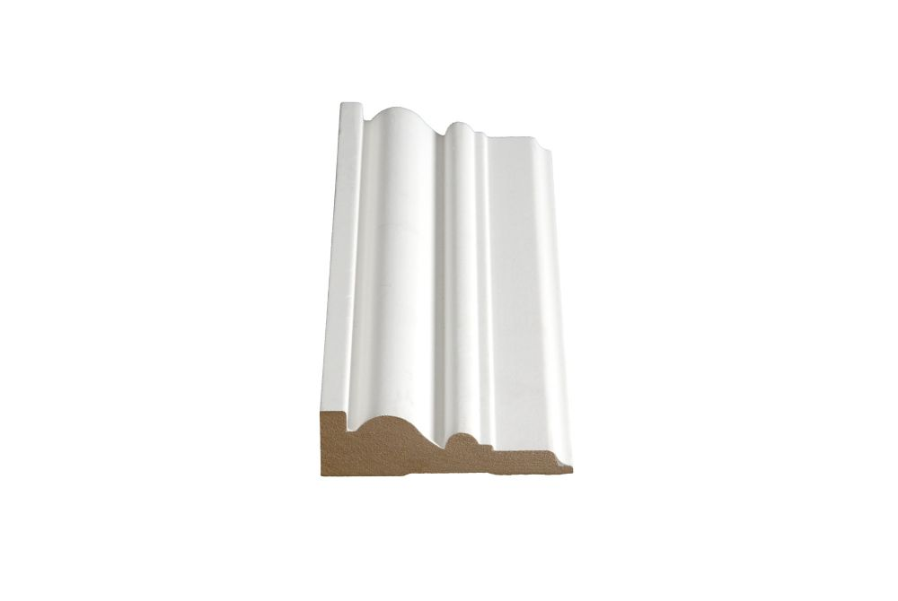 Primed Fibreboard Casing 1 In. x 3-1/2 In. x 8 Ft.