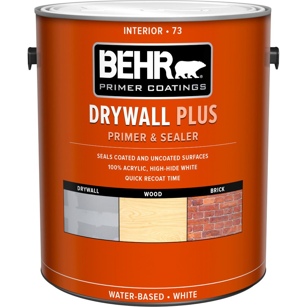Behr Premium Plus Premium Plus Interior Drywall Primer Sealer The Home Depot Canada