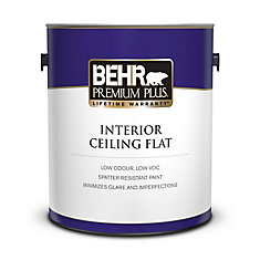 PREMIUM PLUS Interior Flat Ceiling Paint - 3.79L