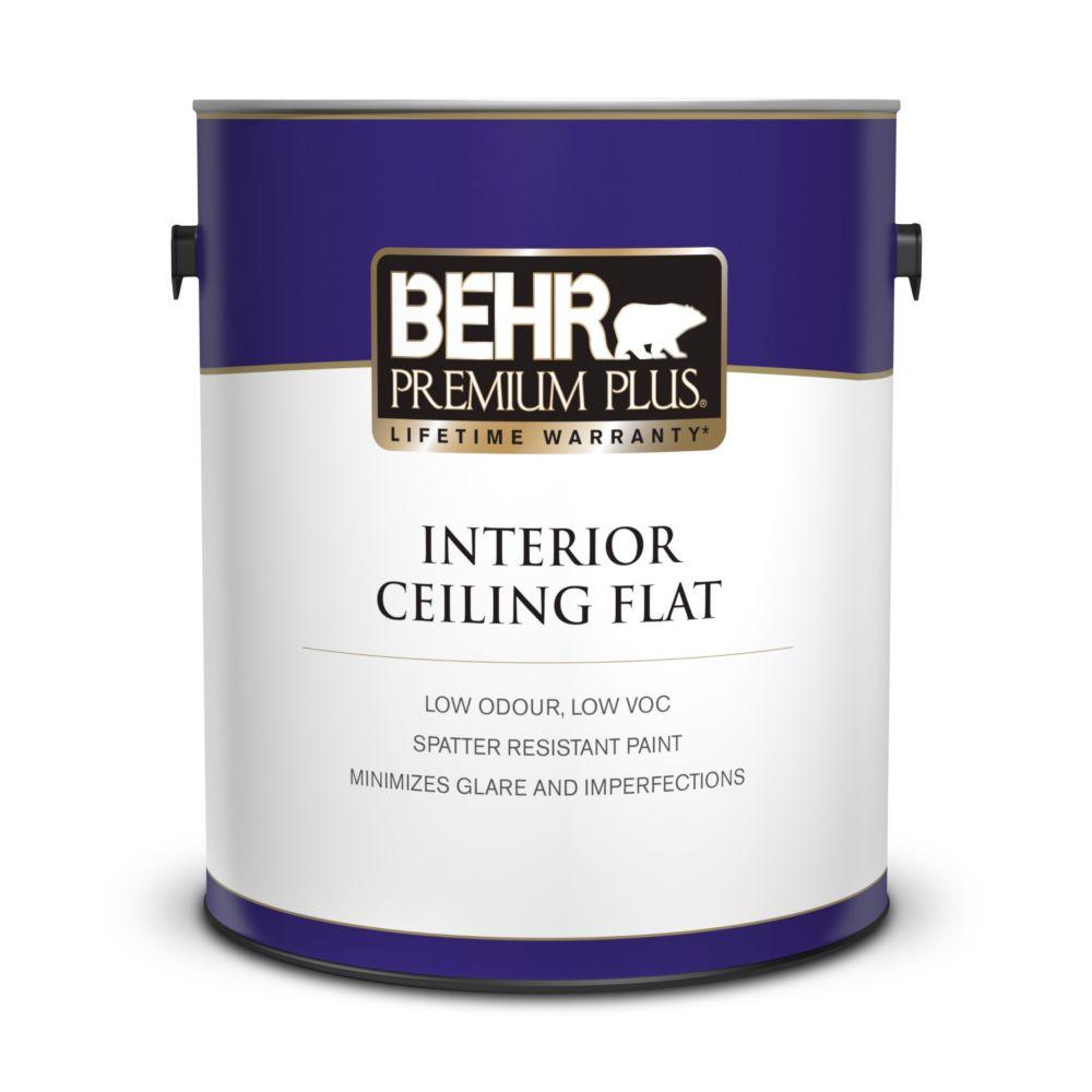 PREMIUM PLUS Interior Flat Ceiling Paint - 3.79L