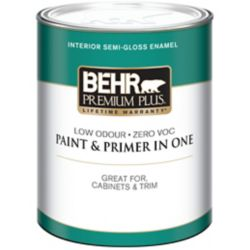 Behr Premium Plus Interior Semi Gloss Enamel Paint Ultra
