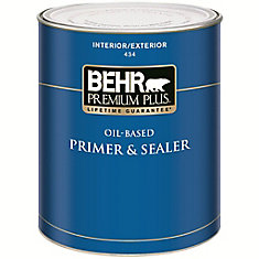 PREMIUM PLUS Interior/Exterior Oil-Based Primer & Sealer - 931mL