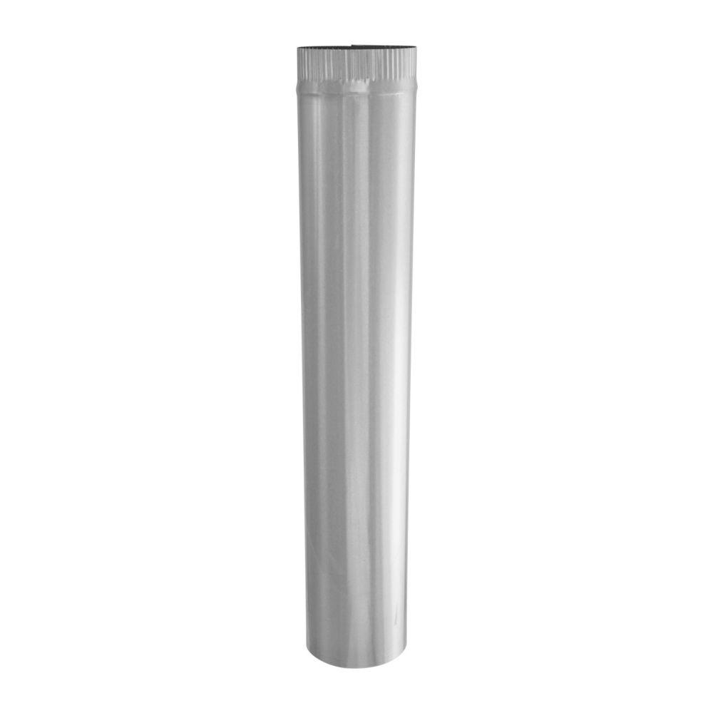 5 x 30 Inch Galvanized Pipe 26 gauge