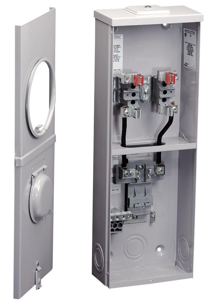 Combine Socle-Disjoncteur 100a