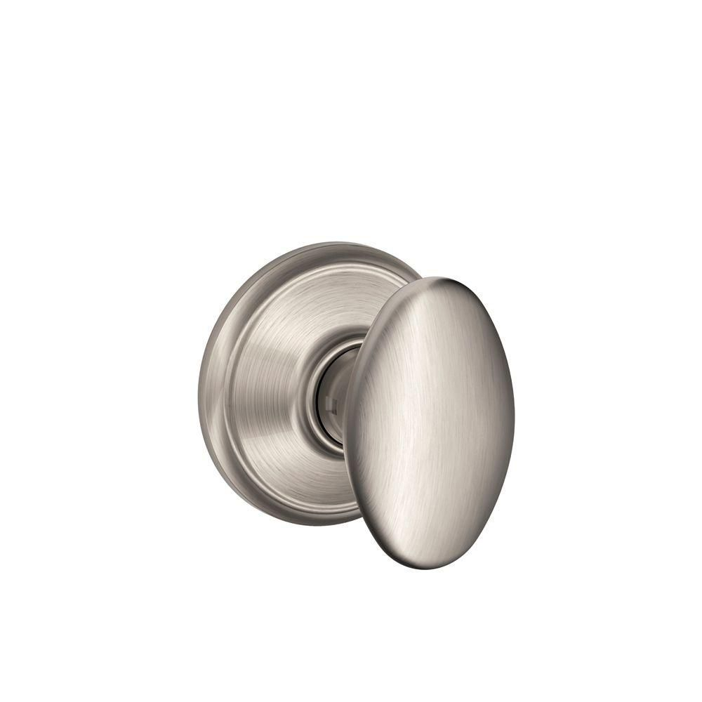 Satin Nickel Non-Locking Hall and Closet Siena Door Knob 78206 Canada Discount
