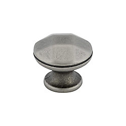 Richelieu Traditional Metal Knob - Faux Iron - 30 mm Dia.
