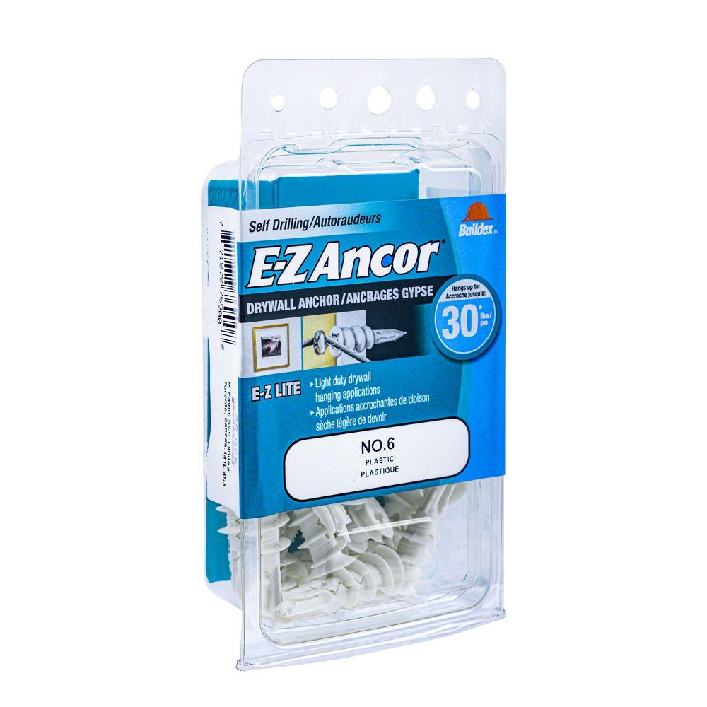Papc 6 E-Z Drywall Anchors