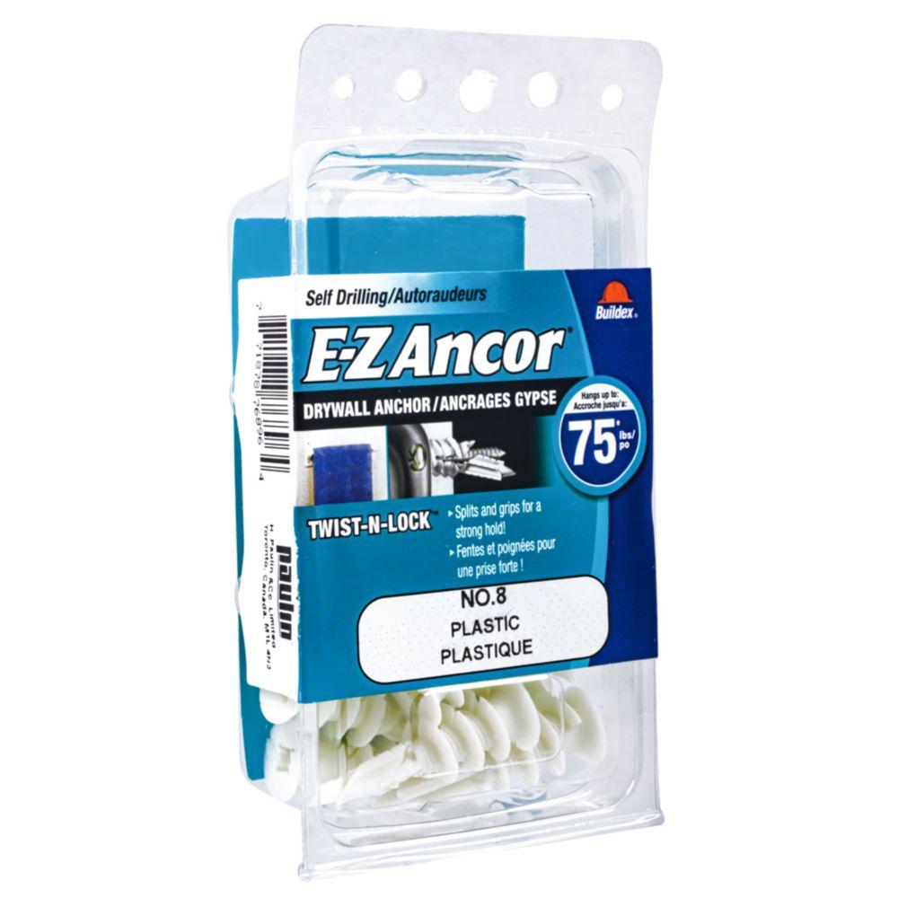Papc 8 E-Z Drywall Anchors
