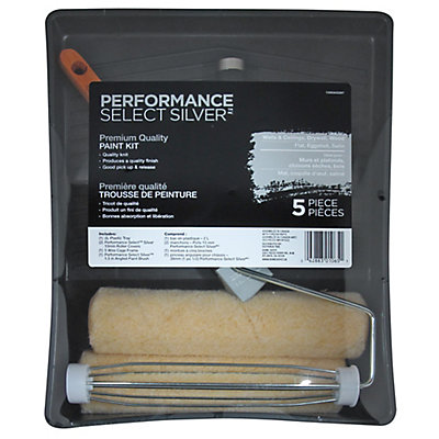 Performance select select silver paint kit 5 piece the home select silver paint kit 5 piece sciox Images