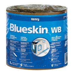 Bakor Blueskin Weather Barrier 6-inch