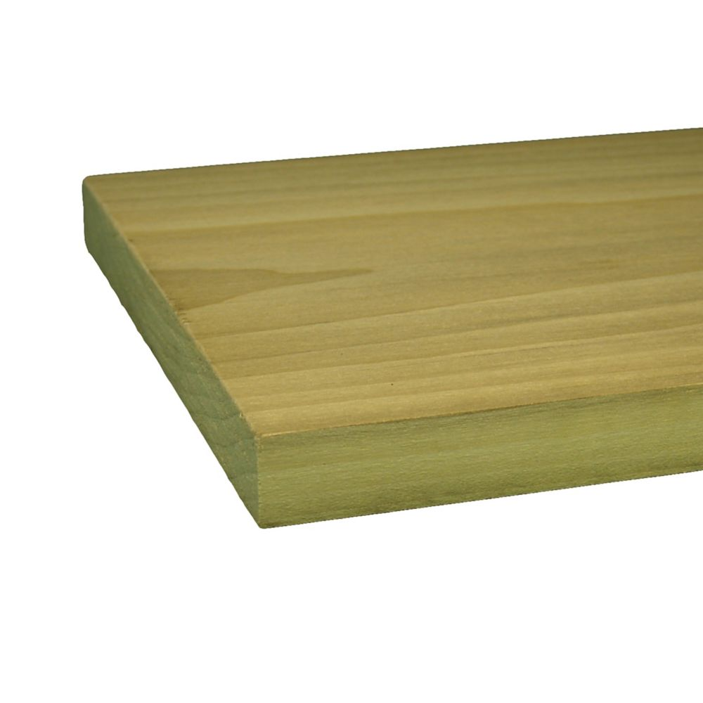 "Poplar Hobby Board 1/4"" x 3"" x 2 Feet"