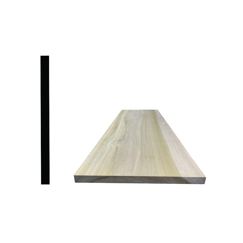 "Alexandria Moulding Poplar Hobby Board 1/4"" x 3"" x 2 Feet"