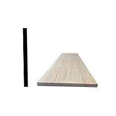 Oak Hobby Board 1 x 12 x 4 Feet