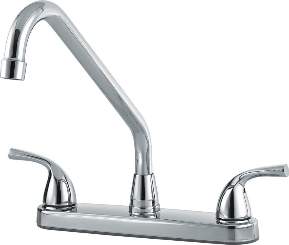 Two Handle Kitchen/Lever Handle Host, Chrome