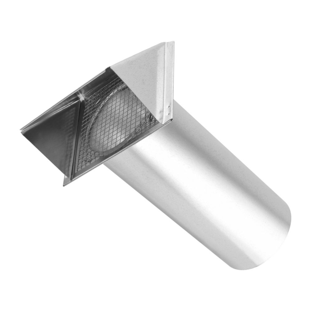 4 Inch Air Intake Hood Galvanized