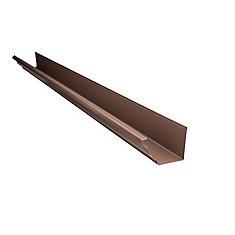 Gouttière en aluminium - 5 pouces x 10 pieds