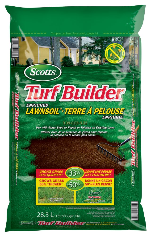 scotts scotts lawn soil 30l the home depot canada. Black Bedroom Furniture Sets. Home Design Ideas