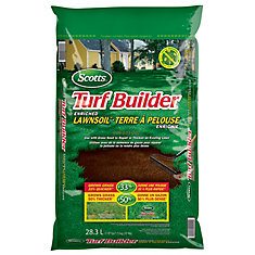 Turf Builder Enriched Lawn Soil - 28.3L